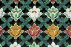 Marco de ventana coreano tradicional Fotos de archivo libres de regalías