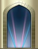 Marco de ventana del Storybook Imagen de archivo libre de regalías