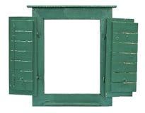Marco de ventana para el cuadro fotografía de archivo libre de regalías