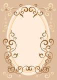 Marco decorativo Imagen de archivo libre de regalías