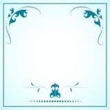 Marco decorativo del ornamento del vector fotos de archivo libres de regalías
