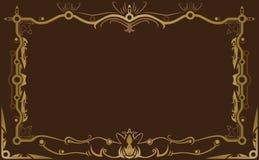 Marco decorativo del vector del diseño Foto de archivo libre de regalías