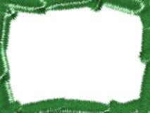 Marco del árbol de navidad Ilustración del Vector