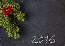Marco del Año Nuevo Imágenes de archivo libres de regalías