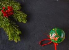 Marco del Año Nuevo Fotos de archivo