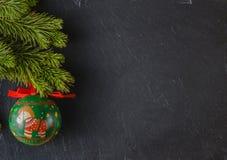 Marco del Año Nuevo Fotografía de archivo libre de regalías