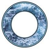 Marco del agua stock de ilustración