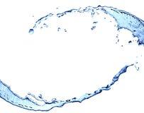 Marco del agua Imagen de archivo libre de regalías