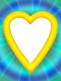Marco del amor Imagen de archivo libre de regalías