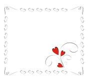 Marco del amor Imágenes de archivo libres de regalías