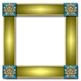 Marco del azulejo del trullo Stock de ilustración