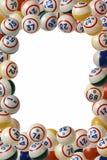 Marco del bingo Imagen de archivo