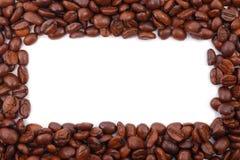 Marco del café fotografía de archivo