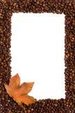 Marco del café Imagen de archivo libre de regalías