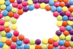 Marco del caramelo Fotos de archivo