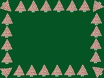 Marco del caramelo de hierbabuena Foto de archivo libre de regalías