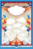 Marco del circo Foto de archivo libre de regalías