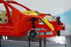 Marco del coche Imagen de archivo libre de regalías