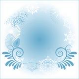 Marco del copo de nieve Foto de archivo