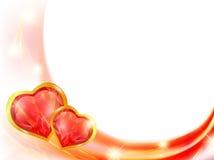 Marco del corazón Foto de archivo libre de regalías