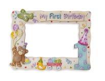 Marco del cumpleaños foto de archivo libre de regalías