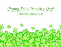 Marco del día de fiesta del día del St Patricks Fotografía de archivo libre de regalías