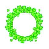 Marco del día de fiesta del día del St Patricks Imagen de archivo libre de regalías