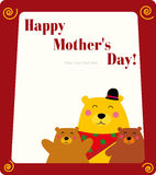 Marco del día de madre libre illustration