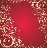 Marco del día de tarjeta del día de San Valentín Fotografía de archivo libre de regalías