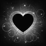 Marco del día de tarjetas del día de San Valentín Imagen de archivo libre de regalías
