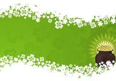 Marco del día del St. Patrick Fotos de archivo