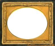 Marco del Daguerreotype con el camino de recortes Foto de archivo