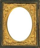 Marco del Daguerreotype con el camino de recortes Imágenes de archivo libres de regalías