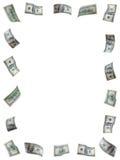 Marco del dinero Fotografía de archivo