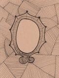 Marco del Doodle ilustración del vector