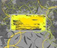Marco del follaje ilustración del vector