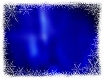 Marco del fondo de la Navidad Fotografía de archivo libre de regalías
