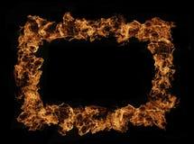 Marco del fuego Imágenes de archivo libres de regalías