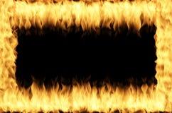 Marco del fuego Fotografía de archivo libre de regalías