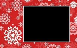 Marco del gráfico del copo de nieve Foto de archivo libre de regalías