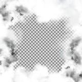 Marco del humo ilustración del vector
