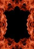 Marco del infierno Fotos de archivo