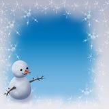 Marco del invierno stock de ilustración