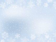 Marco del invierno Fotos de archivo libres de regalías