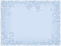 Marco del invierno Foto de archivo libre de regalías