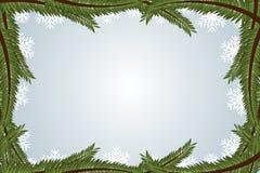 Marco del invierno Imagen de archivo