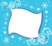 Marco del invierno Fotografía de archivo libre de regalías