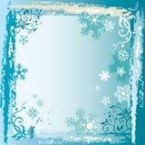 Marco del invierno Imágenes de archivo libres de regalías