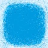 Marco del invierno para el texto de copos de nieve Imagen de archivo