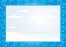 Marco del mar Imagen de archivo